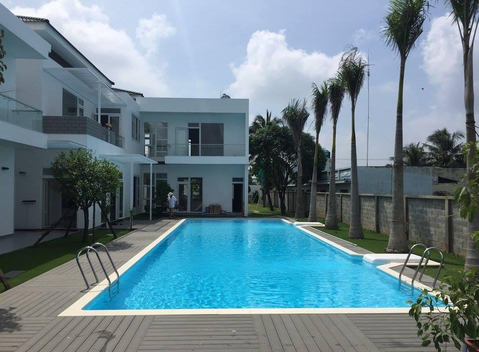 Kết quả hình ảnh cho đất nhà vườn có bể bơi